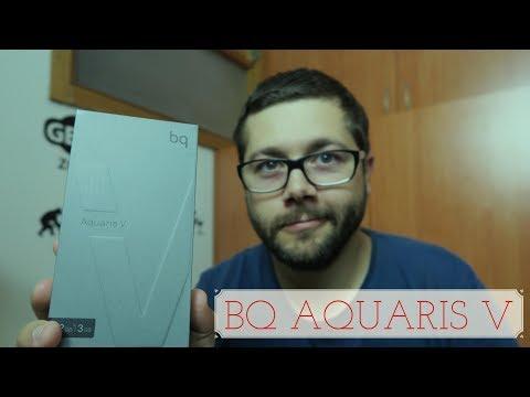 Unboxing em PT: Smartphone BQ Aquaris V