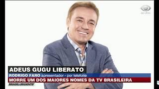 Rodrigo Faro fala sobre a morte de Gugu