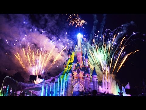 Disney Dreams! Spectacular Night Time Full Show - HD at Disneyland Paris w/Peter Pan, Rapunzel