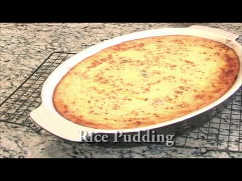 Creamy Baked Rice Pudding