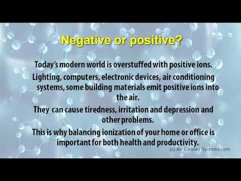 Negative Ions - How Do Neg Ions Influence Our Health?