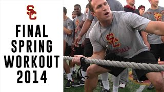 USC Football - Final Spring Workout