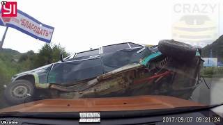 CAR ACCIDENTS CAUGHT ON DASH CAMS