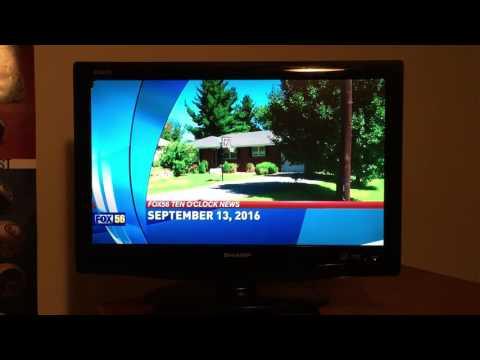 WDKY Fox 56 Ten O'clock News Open 9-13-2016