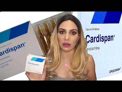 Cardispan tabletas para adelgazar