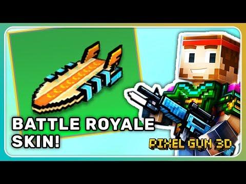 Air-Surfbrett gekauft! Gleiter Skin für Königliche Schlacht! | Pixel Gun 3D [Deutsch]