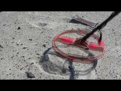 Как искать цели катушкой 15 дюймов на замусоренном месте. Металлоискатель Minelab X-Terra 705