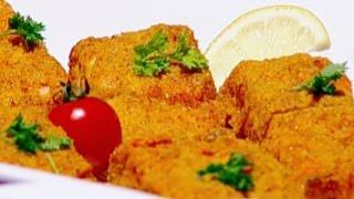 فيليه السمك بتغليفة طحين الذرة وبطاطا مقرمشة بالفرن - ديما حجاوي