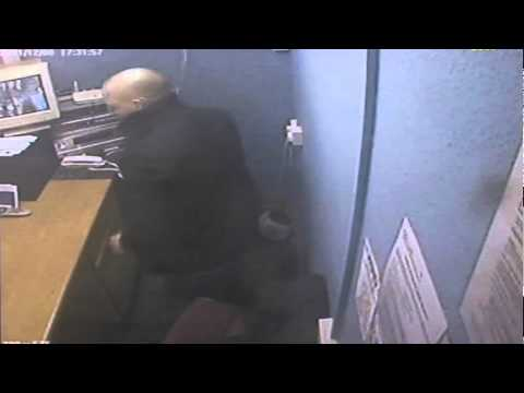 Walkden Amusement Arcade Robbery CCTV