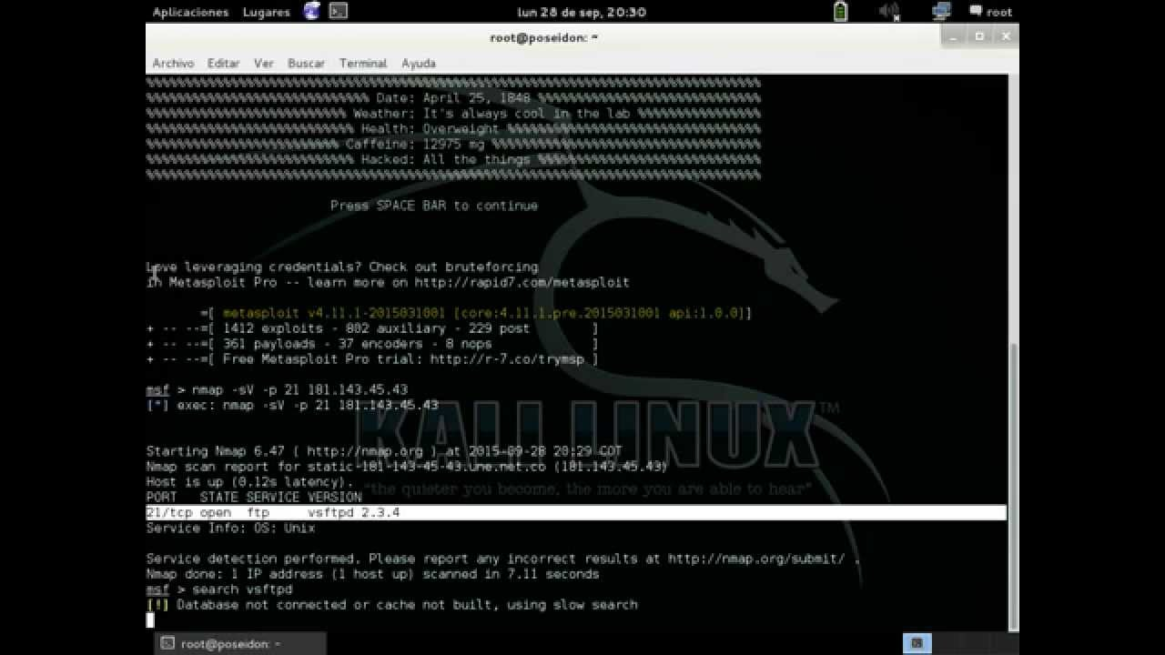 Kali Linux | Backdoor FTP