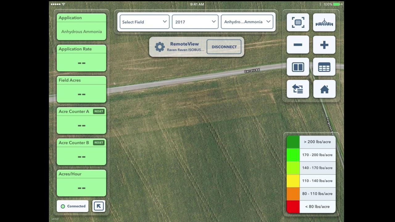 Using RemoteView in FieldView™ Cab App