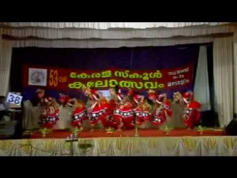 Group Dance Kerala School Kalolsavam 2013 HSS Travel Video