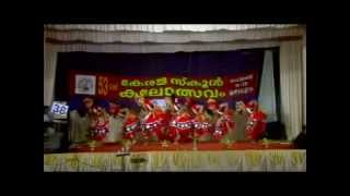 Group Dance Kerala School Kalolsavam 2013 HSS