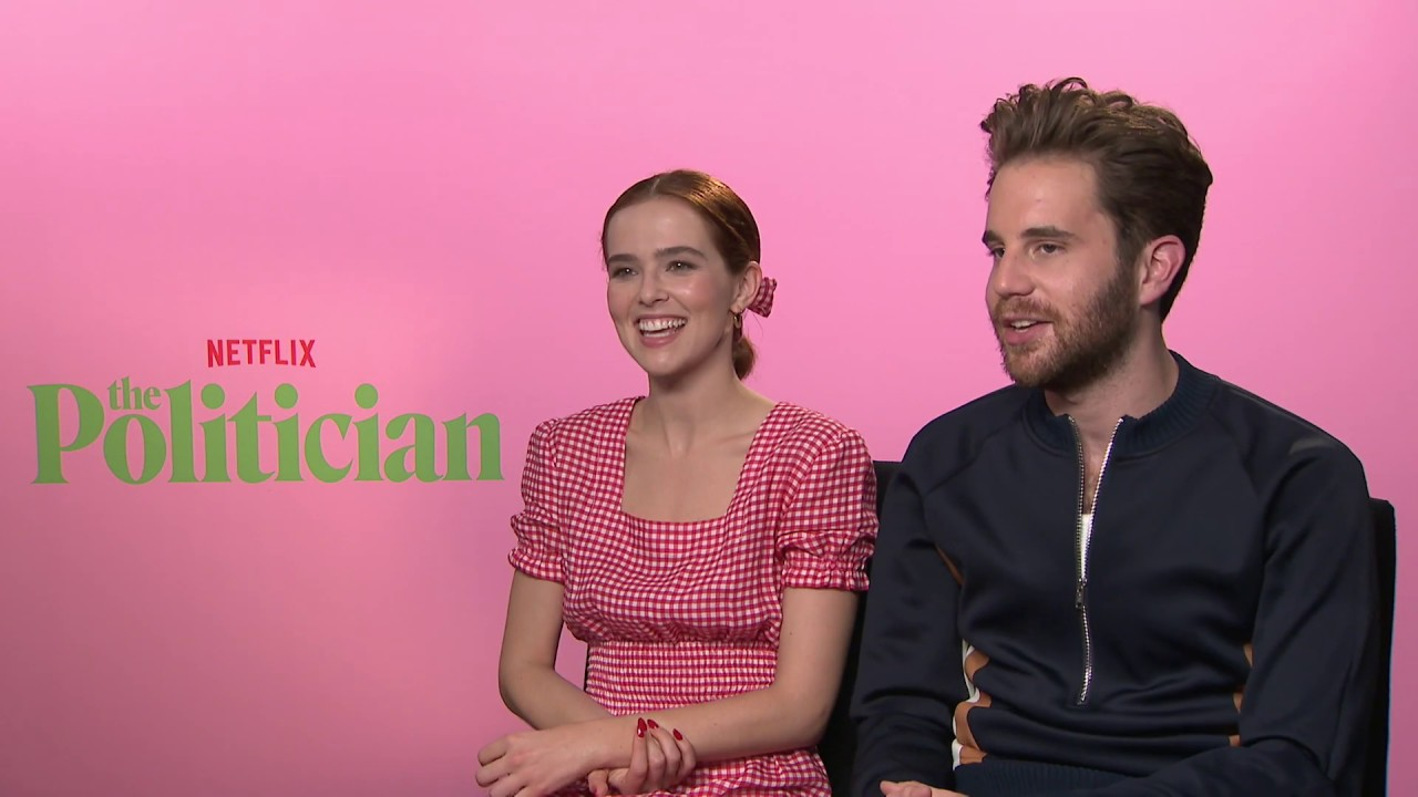 Zoey Deutch Ben Platt Talk Netflix S The Politician