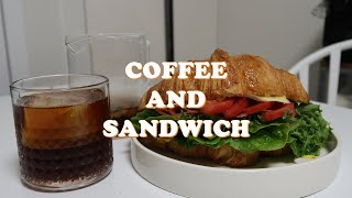 03_COFFEE AND SANDWICH l 칼리타 웨…
