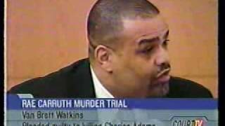 Rae Carruth Trial: Testimony of Hitman Van Brett Watkins Pt 1