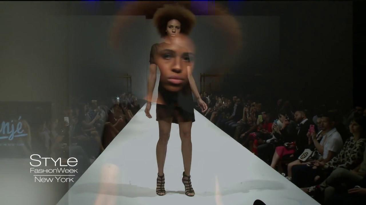 anje ss16 ss16 runway fashion how during style fashion week ny gotham hall youtube