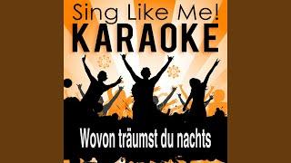 Wovon träumst du nachts (Karaoke Version)