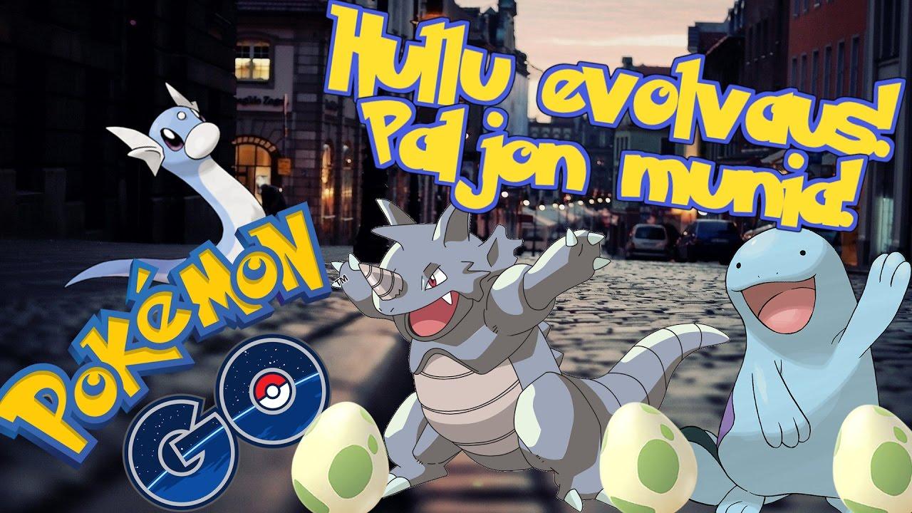 Pokemon GO Suomi - MUN PARAS EVOLVAUS & HULLUA TUURIA! 10km & 5km Munia! - YouTube