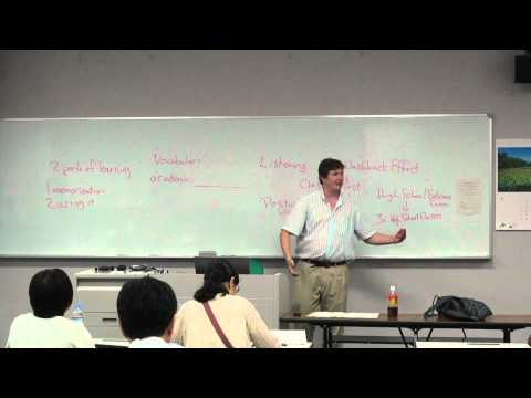 Increasing Language Production in Classroom Testing (Sapporo, Japan)