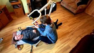 ARDOO Caresafe 140 Portable disability Hoist - Lifting User from Floor/Supine Position