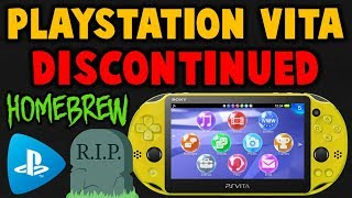 RIP PS VITA!! Good News For Homebrew Users! (Discontinued)
