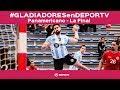 #GLADIADORESenDEPORTV - La final: Argentina vs Brasil - Panamericano de Groenlandia