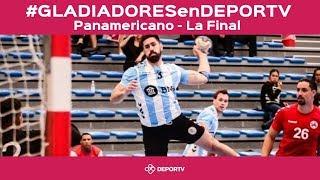 #GLADIADORESenDEPORTV - VIVO - La final: Argentina vs Brasil - Panamericano de Groenlandia
