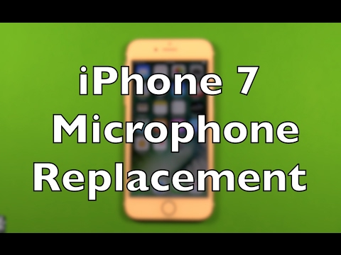 hot sale online 06d5c 07ab0 iPhone 7 Microphone Replacement Repair How To Change
