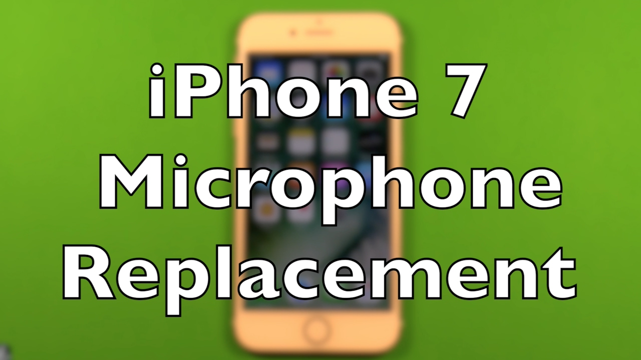 iphone microphone problem