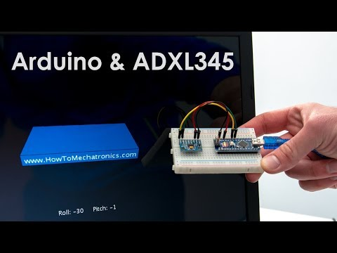 How To Track Orientation with Arduino | ADXL345 Accelerometer Tutorial