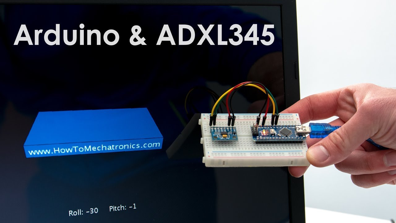How To Track Orientation with Arduino and ADXL345