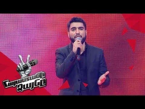 Khoren Galstyan Sings 'Կյանք ու կռիվ' - Blind Auditions - The Voice Of Armenia - Season 4
