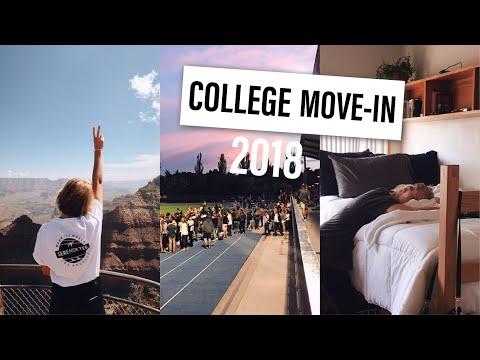COLLEGE MOVE IN | NORTHERN ARIZONA UNIVERSITY 2018