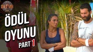 Ödül Oyunu 1. Part   40. Bölüm   Survivor Türkiye - Yunanistan