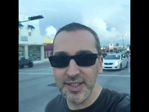 Miami Walk in 8 th street, October 22, 2016