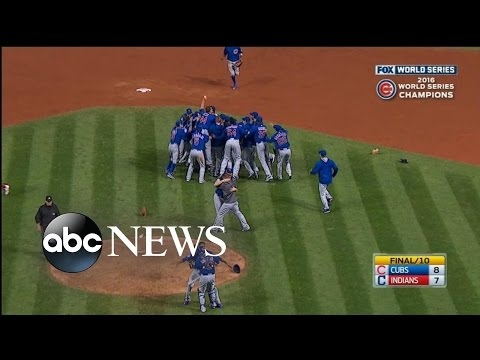 Chicago Cubs Win World Series for 1st Time in 108 Years