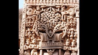 World Heritage Buddhist Monuments at Sanchi in India