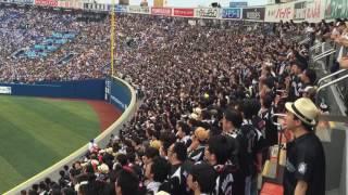 2016年6月4日 横浜DeNAベイスターズ vs 千葉ロッテマリーンズ 横浜スタ...