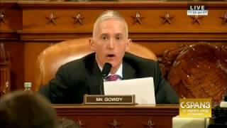 Rep Trey Gowdy Grills FBI's Comey on Wiretapping, Russia