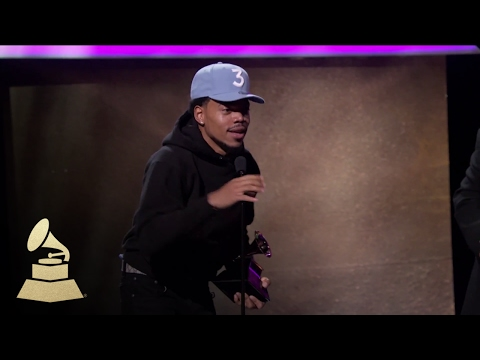Chance the Rapper Wins Best Rap Performance   Acceptance Speech   59th GRAMMYs