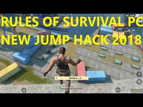 RULES OF SURVIVAL PC (RoS) JUMP CHEAT 2018 | FREE DOWNLOAD