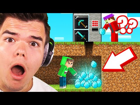 I Built A TROLL STORE To STEAL DIAMONDS From My FRIENDS! (Minecraft)