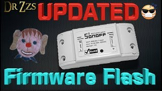Gambar cover How To Change Firmware on Sonoff Devices for use in Home Automation Projects