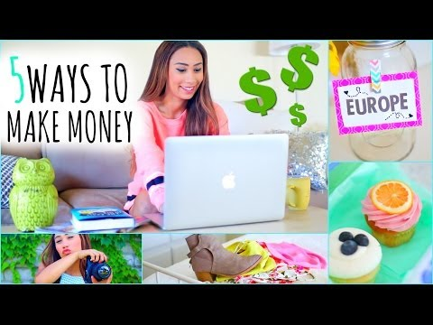 5 Ways To Make Money This Summer! ☼ On The Internet