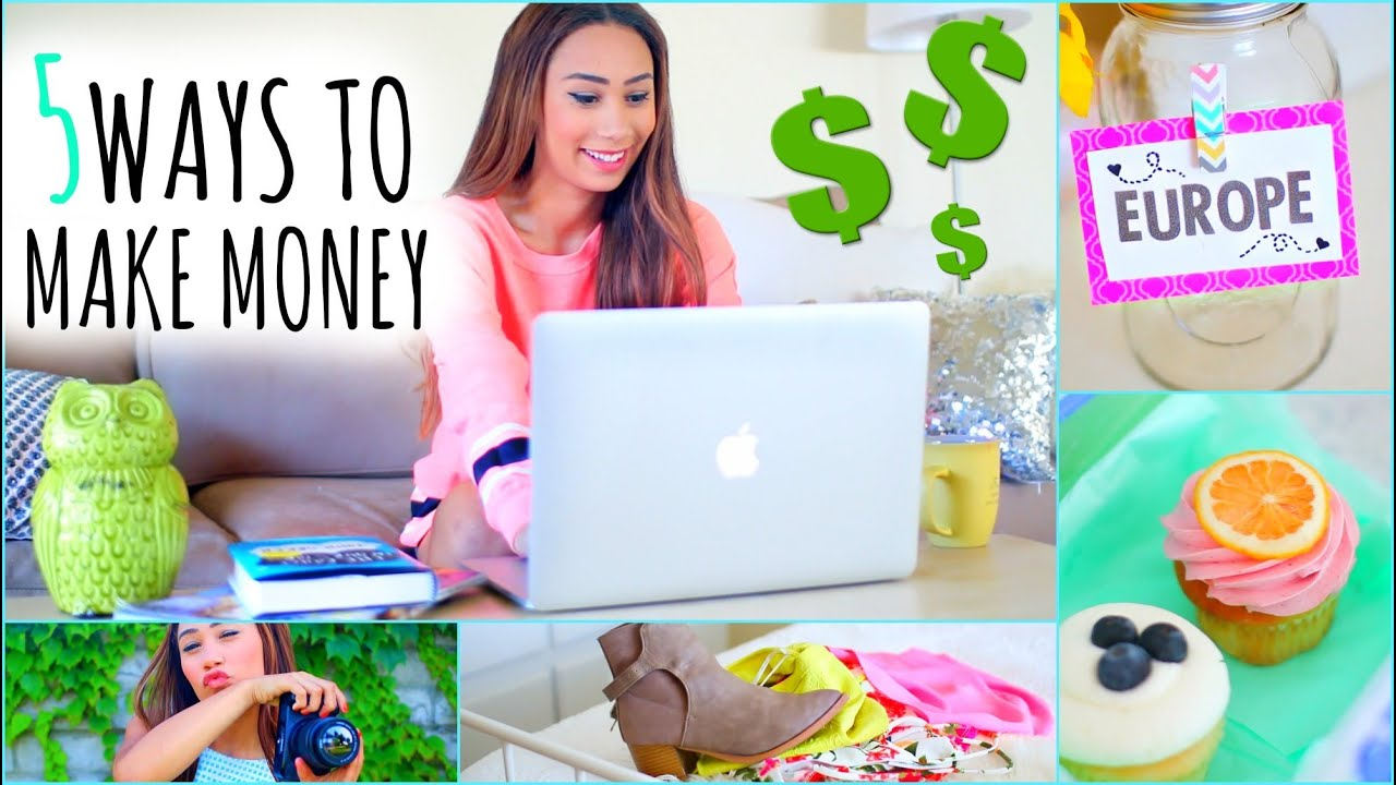5 ways to make money this summer on the internet youtube for What can i make at home to sell online