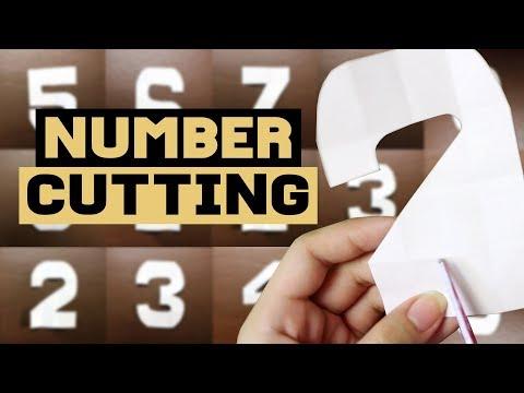 Number Cutting Tutorial | Philippines
