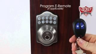 lockey e digital e910r programming instructions