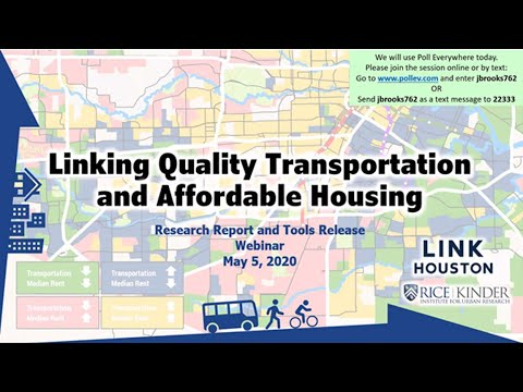 Linking Quality Transportation And Affordable Housing