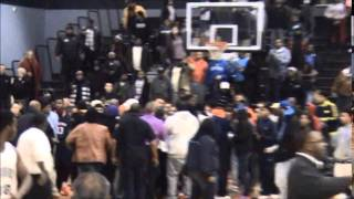 Fight breaks out after York High at Harrisburg boys' basketball game 1-5-15